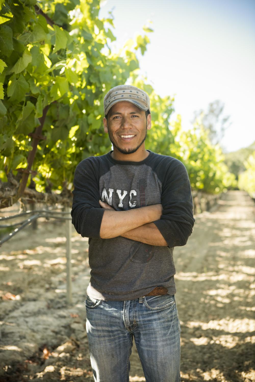 Mauro Rivera, Vineyard Team Supervisor