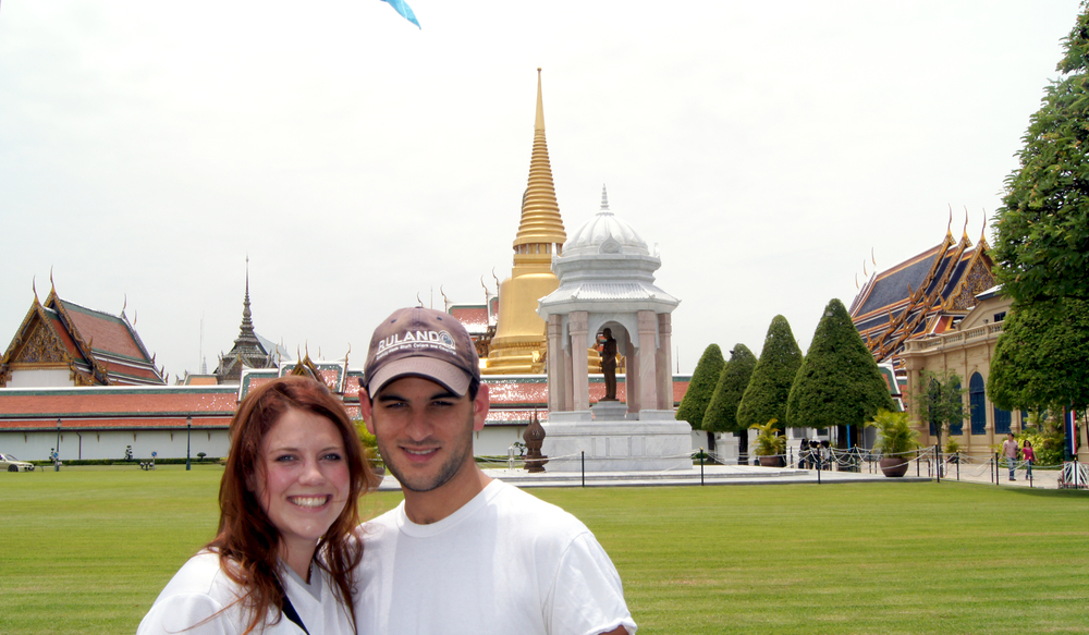 Caitlin and Chris in Thailand