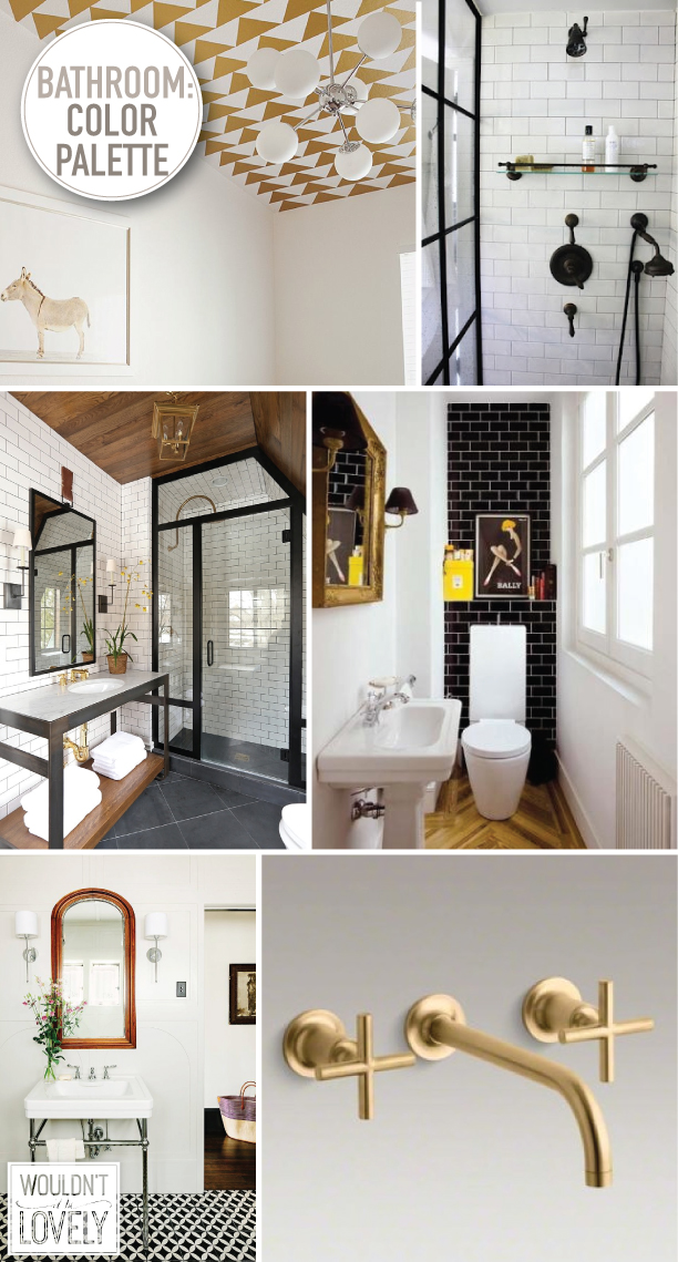 Our Bathroom Color Palette White Black Gold And Wood Wouldn T It Be Lovely,Modern Kids Bedroom Ideas For Girls