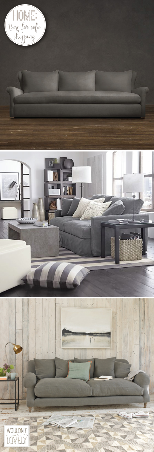 comfortable deep sofa options