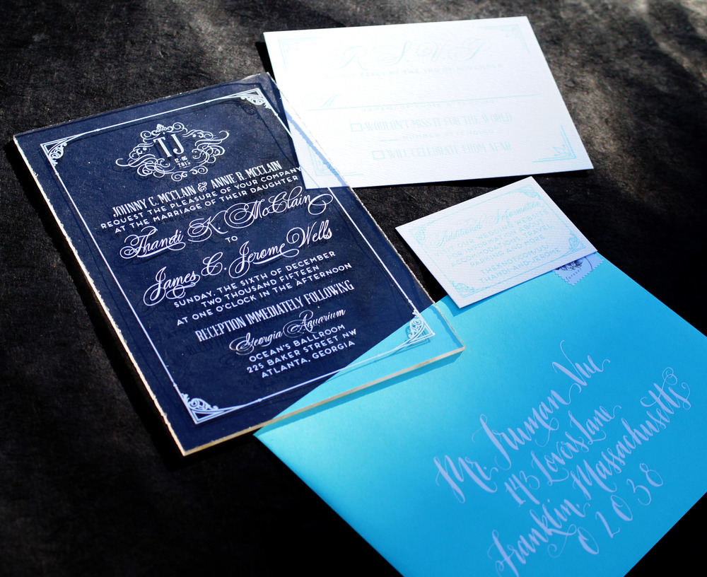 Acrylic Wedding Invitations Wouldnt it be Lovely
