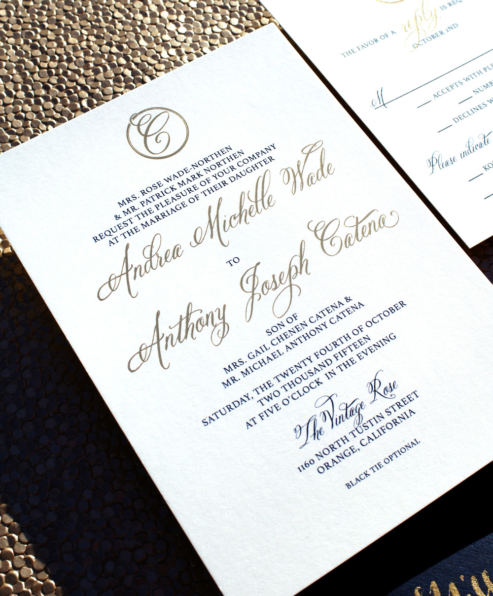 Bow Tie Wedding Invitations — Wouldn\'t it be Lovely