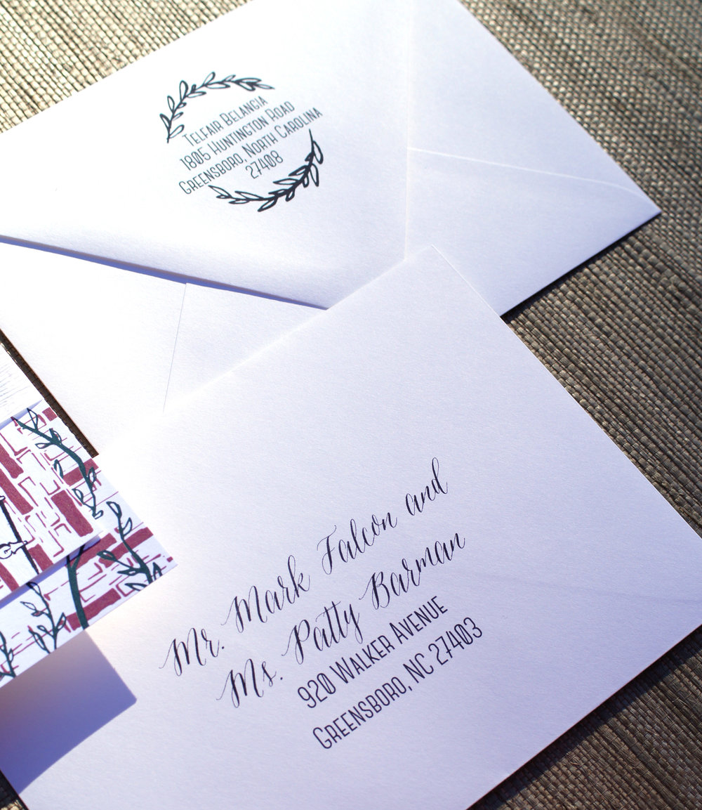 Printed Addresses: $2.50-$3.75