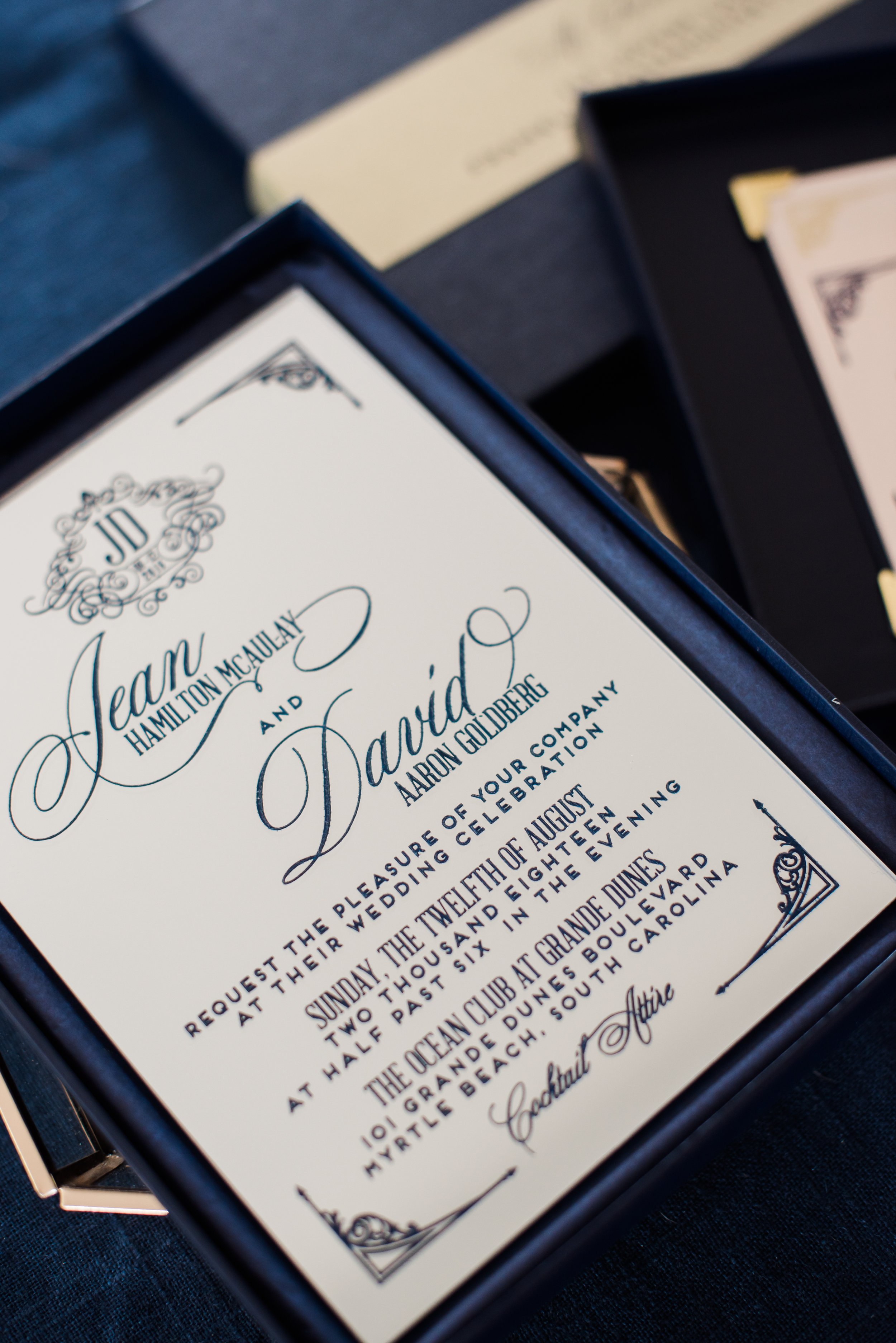 Mirrored Acrylic Wedding Invitations Wouldnt It Be Lovely
