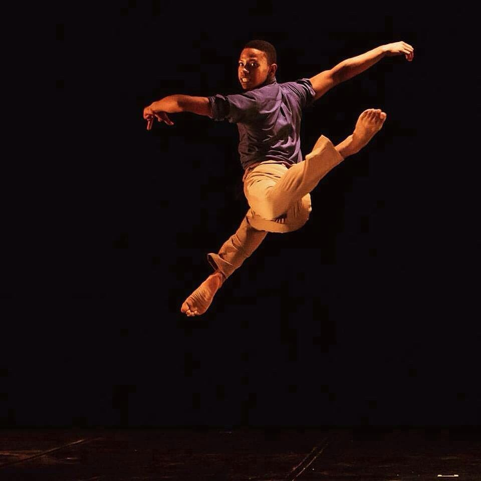 Dancer Darel Jose Pichardo in Miranda