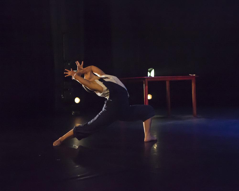 Azzurra Ardovini in Young Man!, by Carlos Pons Guerra. Photo: Maria Falconer