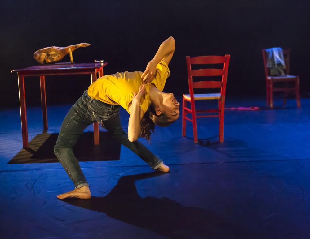 Marivi Da Silva in Young Man!, by Carlos Pons Guerra. Photo: Maria Falconer