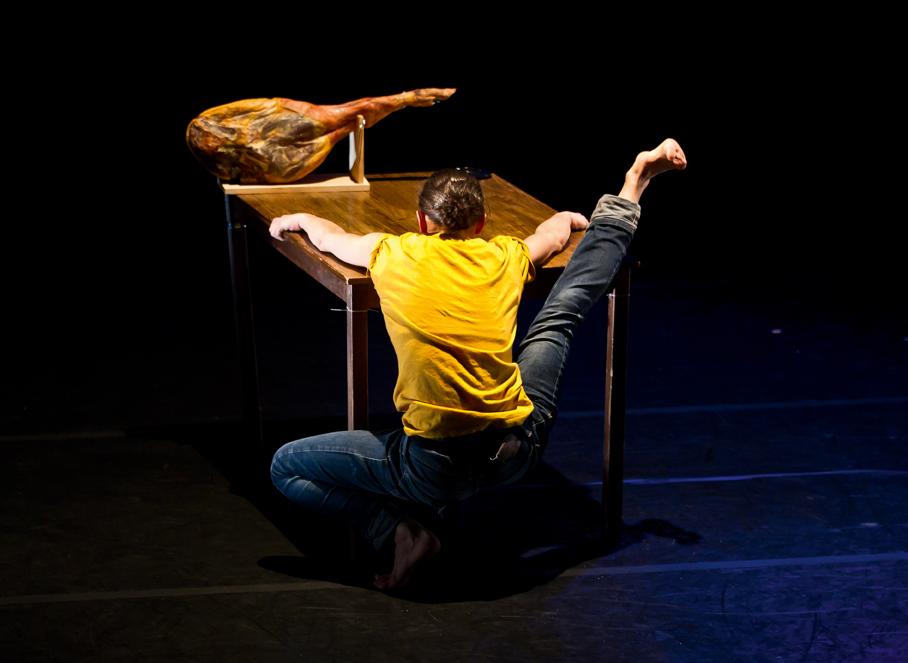 Marivi Da Silva in Young Man!, by Carlos Pons Guerra. Photo: Emma Kauldhar