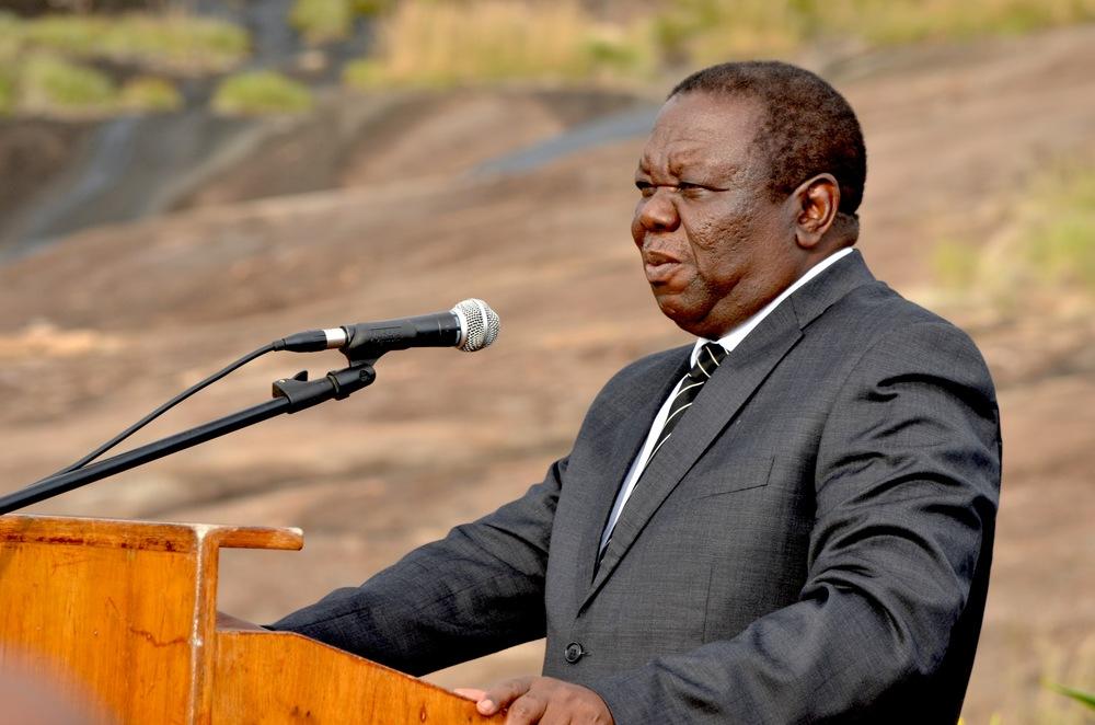 Photo: ©PUBLIKACCESSNETWORK.COM                              Morgan Tsvangirai, leader of the MDC-T