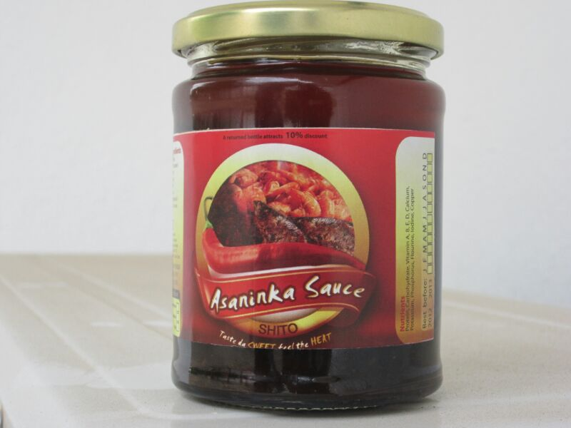 Ghana's Sweet Heat, PAN