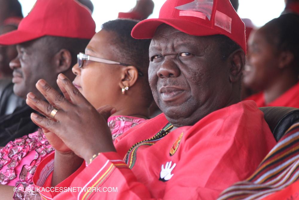 Morgan Tsvangirai MDC President