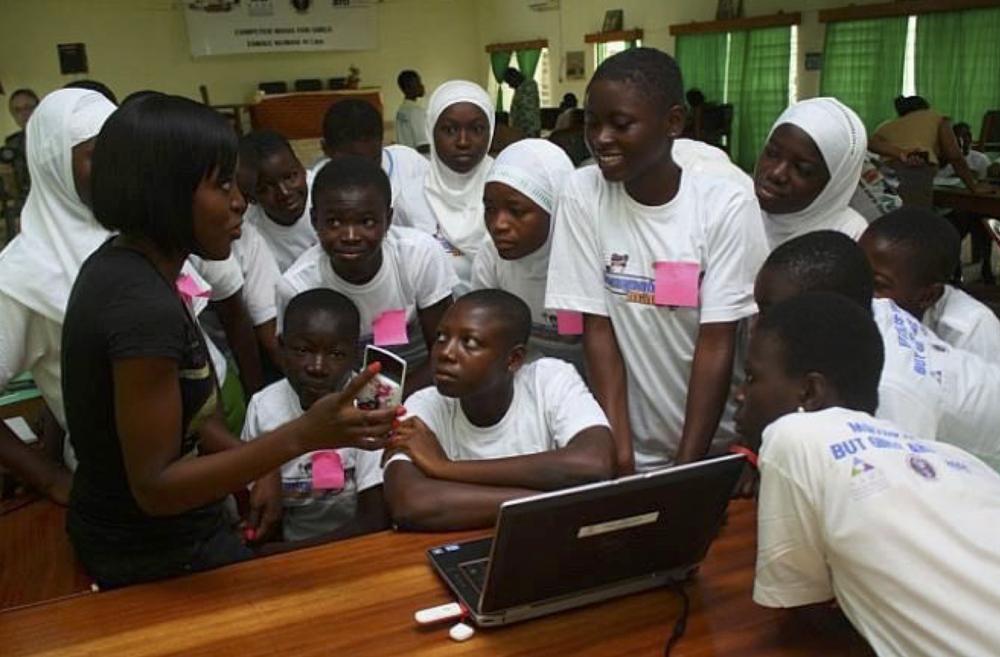 Tech Needs Girls coding class. Credit Sonkoro Solutions