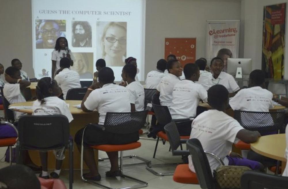 Tech Needs Girls coding classCredit: Soronko Solutions