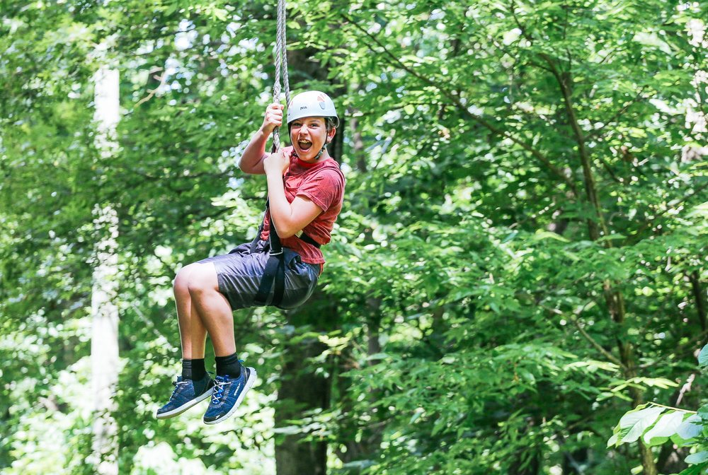 Copy of Activities: High Ropes Course