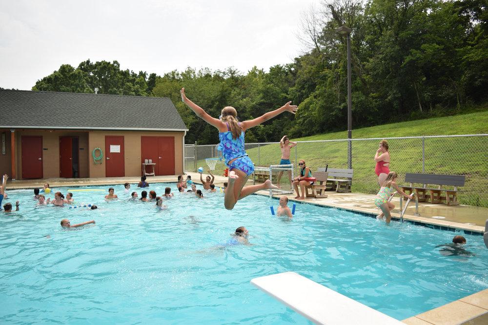 Copy of Activities: Swimming