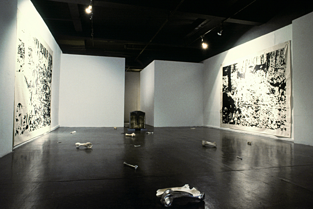 Installation - Contemporary Art Gallery, Vancouver Canada