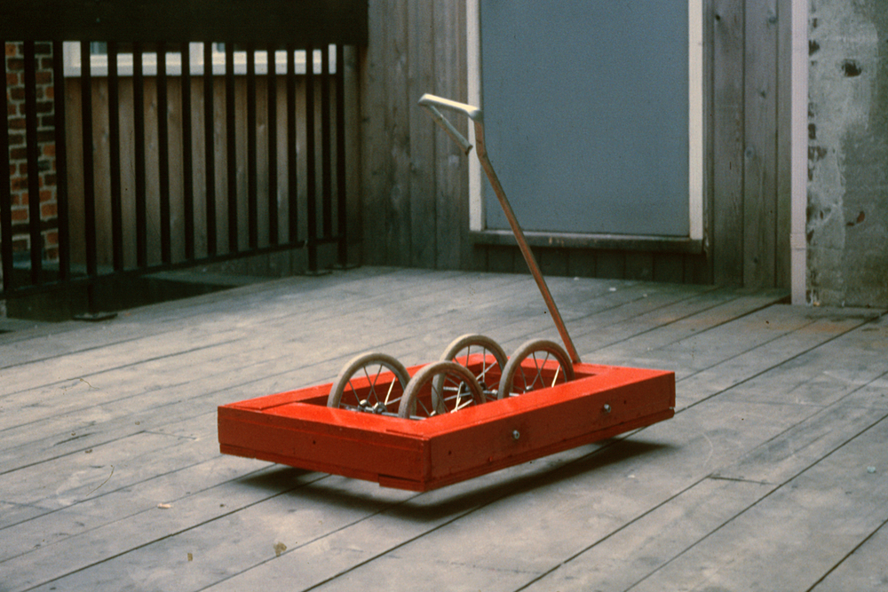 Untitled (Red Wheely)