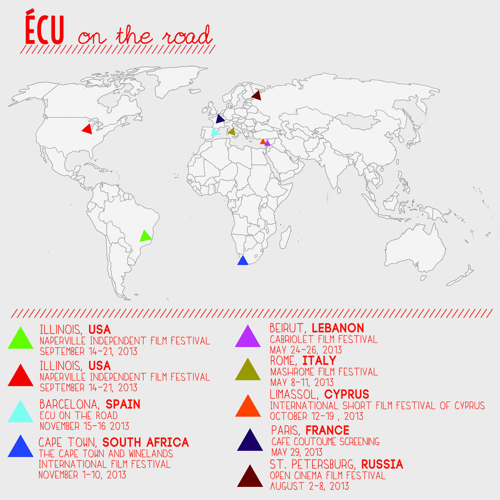 ECU On the Road Map