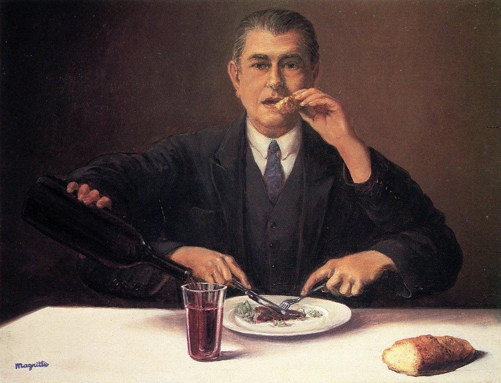 Magritte- Le Sorcier -1951%2c Coll. Privata.jpg