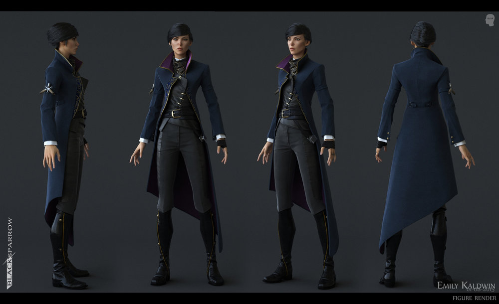 Dishonored Ii James Ku Cg Character Artist