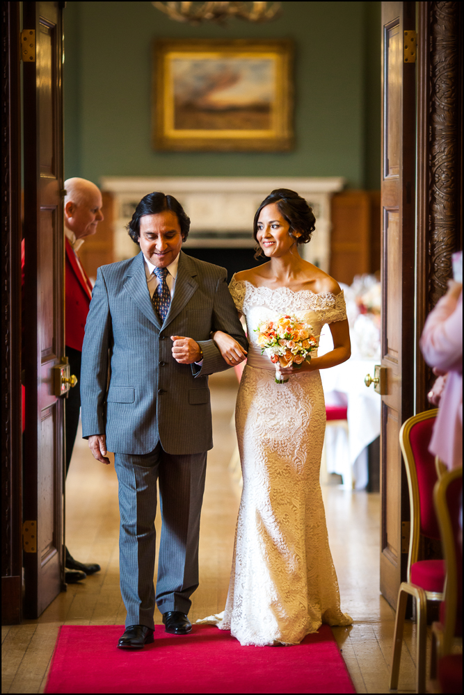 Maria & Tokay. Eynsham Hall wedding photographer  .