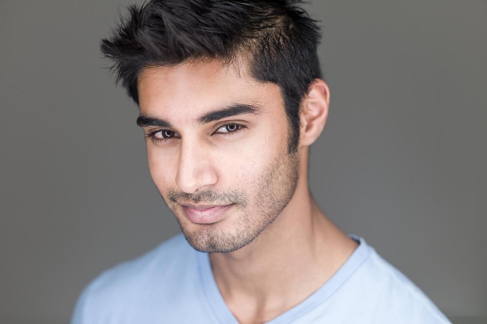 Ankur Jaswal Modeling Headshot