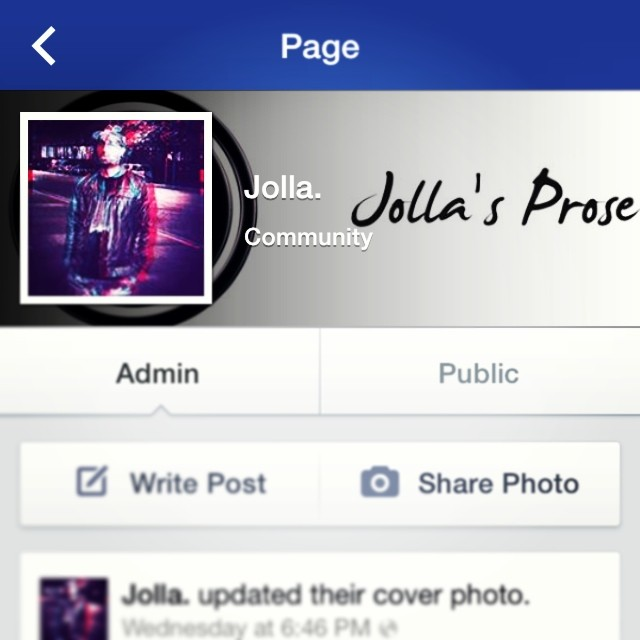 In case you haven't already, please like my FB artist page! Facebook.com/LogicDrivenProse    #FiltersOnFacebook #SaturdaySolicitation #butNotThatKind