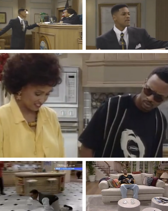 collegehumor :     Video:  5 Times Fresh Prince Broke the Fourth Wall  [Click to watch all]   It's hard to ignore a completely new mother or no ceiling every once in a while.