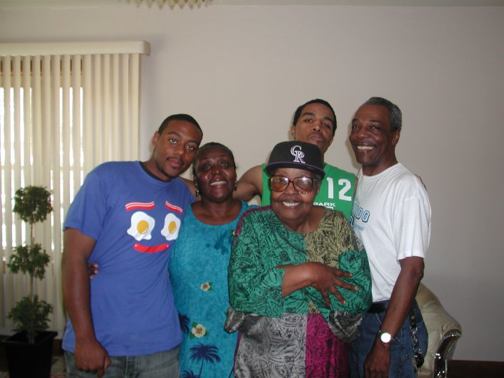 An old picture of family. Y'all see my Granny justifying her thug…(or so she thought) lol.