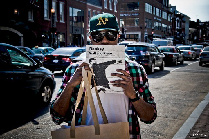 The homie Thomas holding quite the dope book…