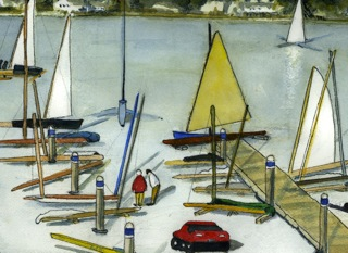 "Betty Taylor's ""Bringing in the Boats"""