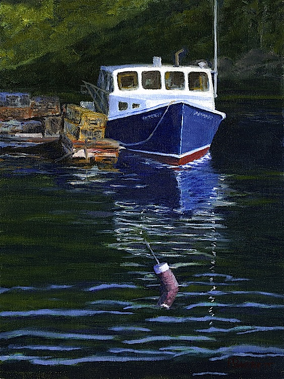 "Peter Barrett's ""Boothbay Scene"""