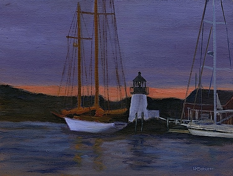 "Peter Barrett's ""Boat Lighthouse"""