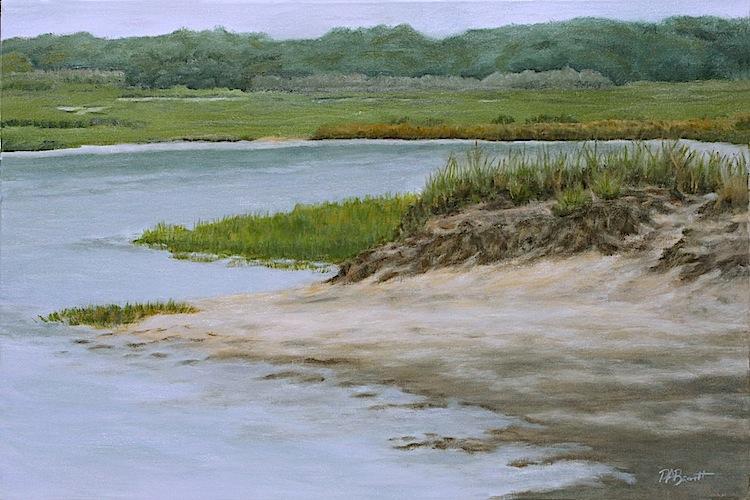 """Peter Barrett's """"Marsh Scene"""""""