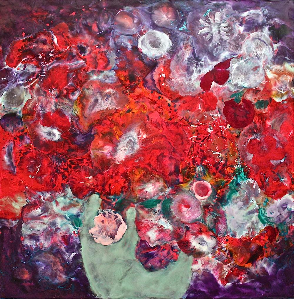 """Gray Jacobik's """"The Exuberant Bouquet"""""""