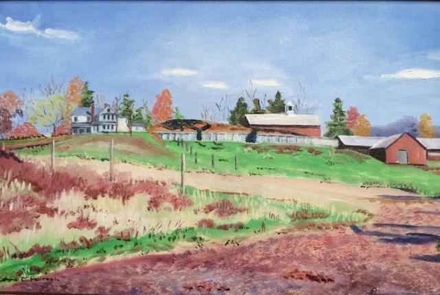 "Donna Dubreiul Favreau's ""Autumn at Mintz's Farm"""