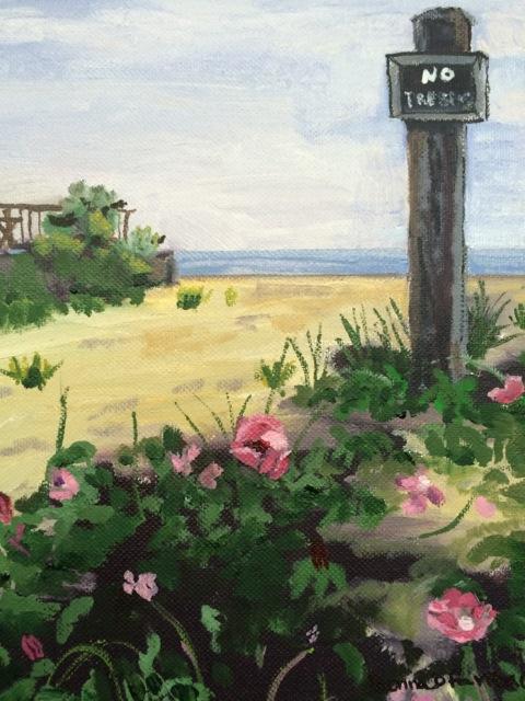 "Donna Dubreiul Favreau's ""Beach Roses"""