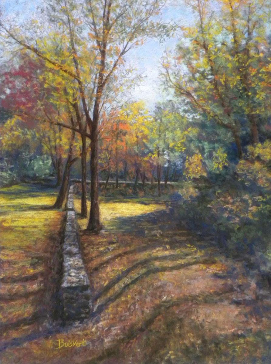 "Linda Boisvert DeStefanis' ""Tree Shadows"""
