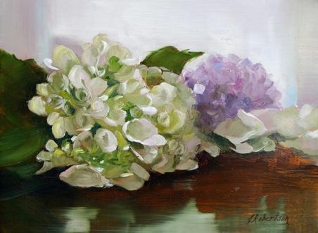 "Janine Robertson's ""Hydrangea"""