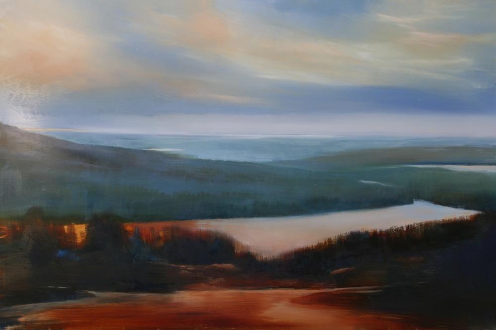 "Janine Robertson's ""Overlook"""