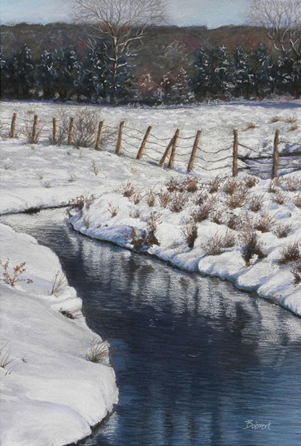 "Linda Boisvert DeStefanis' ""Winter Pastures"""