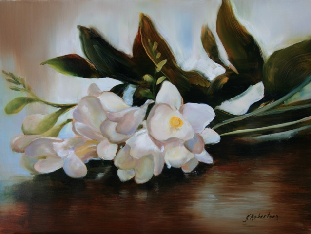 """Janine Robertson's """"Freesia II"""""""