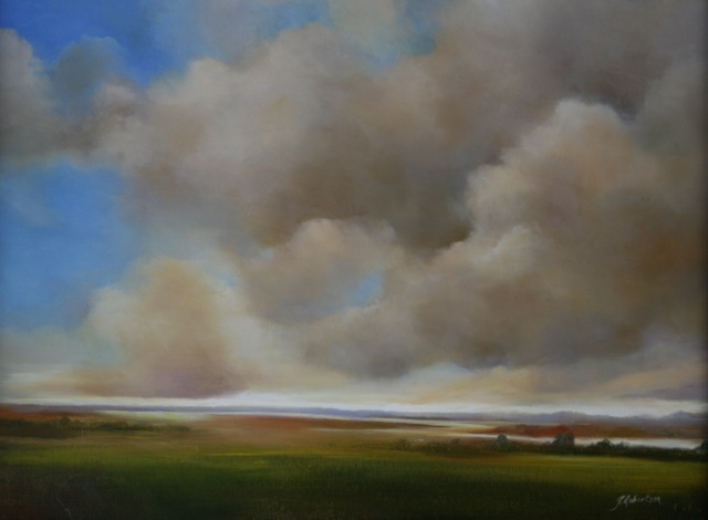 "Janine Robertson's ""Clearing Skies"""