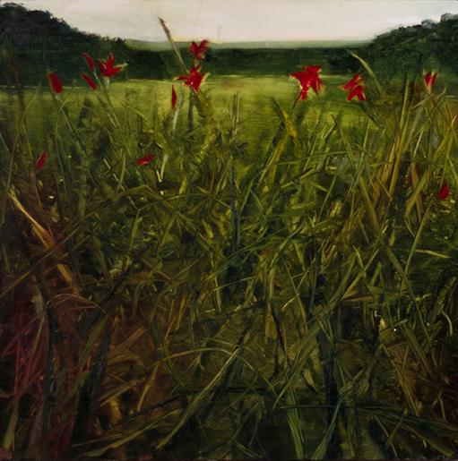 "Faye Mylen's ""Red Flowers"""