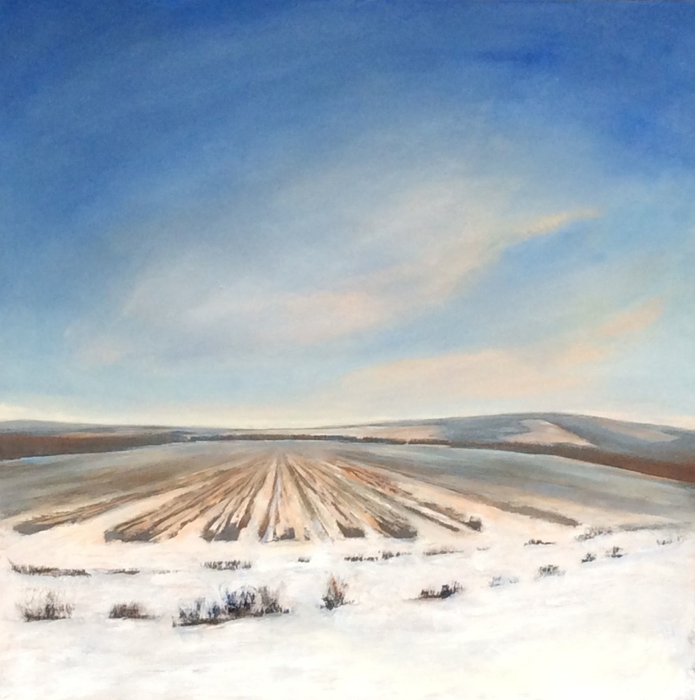 "Faye Mylen's ""Snow Covered Fields"""
