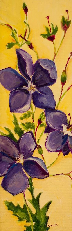 """Claudia Van Nes's """"Cranesbill"""""""