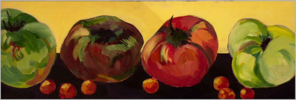 "Claudia Van Nes's ""4 Heirloom Tomatoes"""