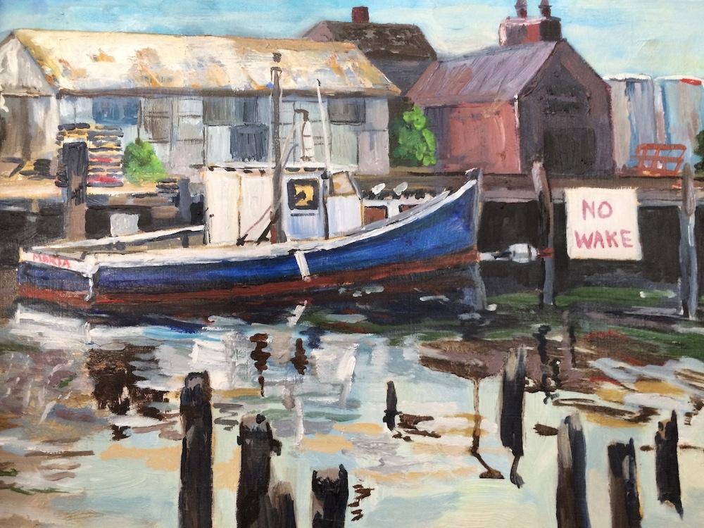 """Donna Dubreuil Favreau's """"No Wake"""""""