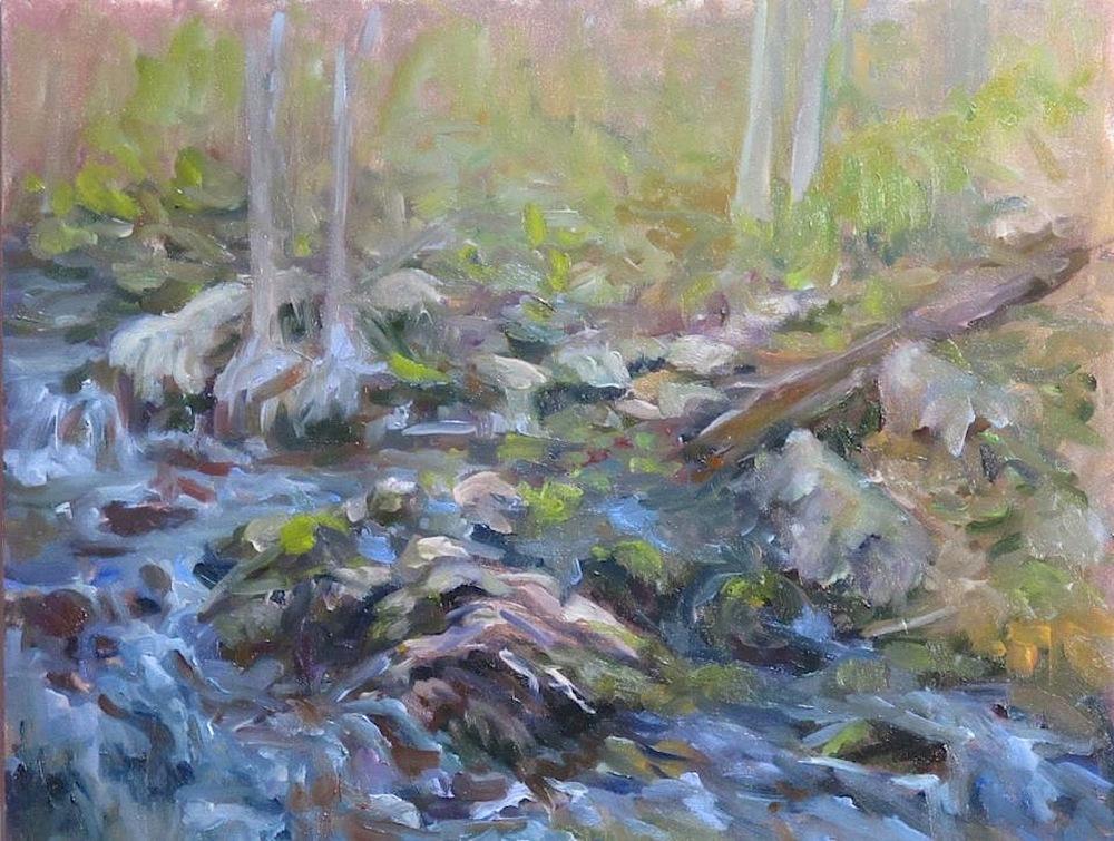 "Barbara Rossitto's ""Babbling Brook"""