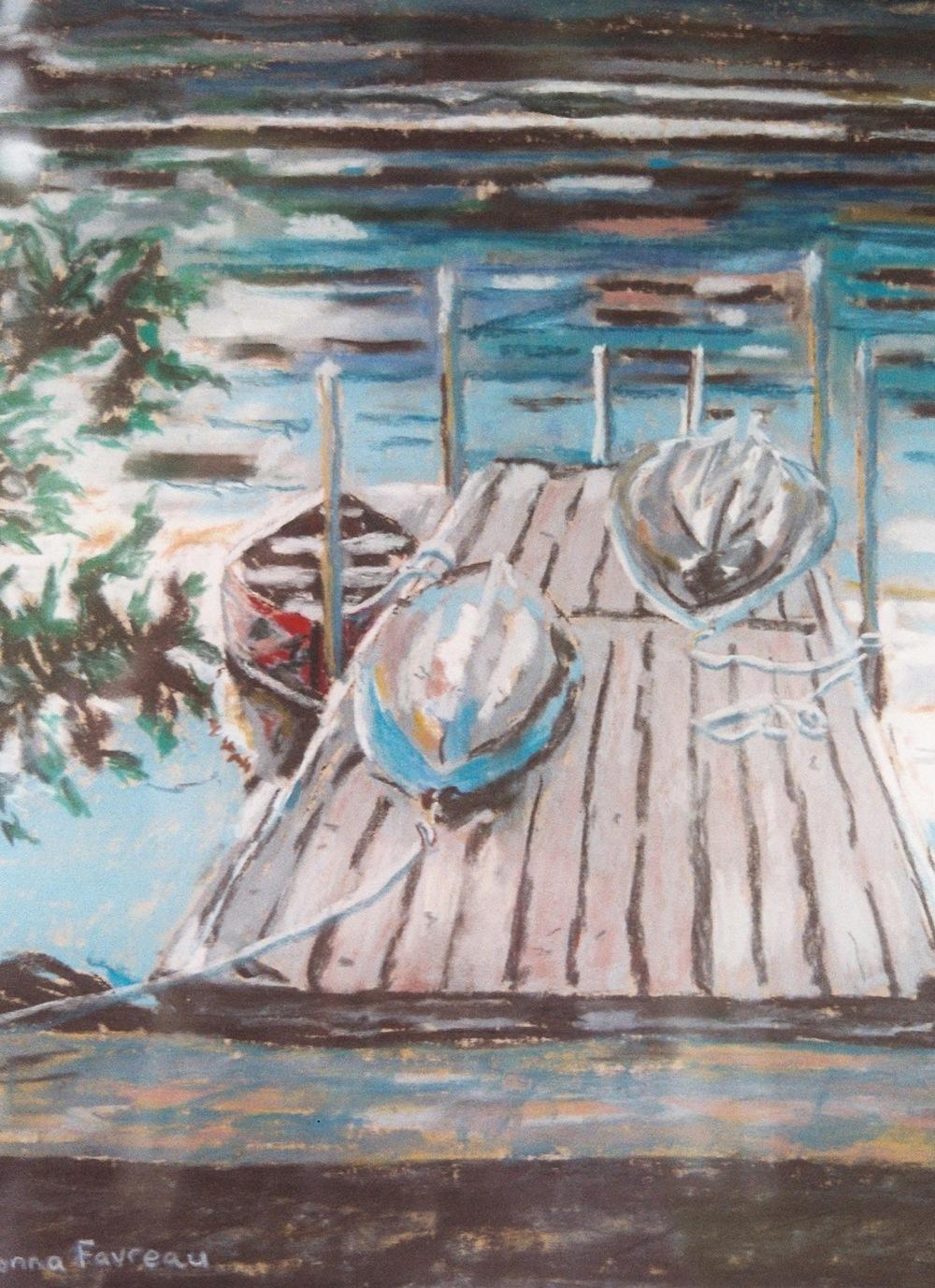 "Donna Dubreuil Favreau's ""Rowboats"""